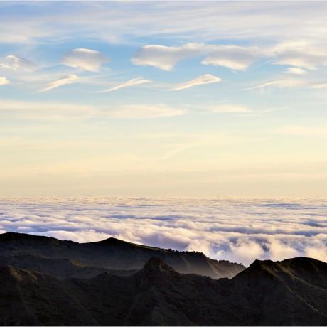 Cloud formations, La Gomera, 04-2015.