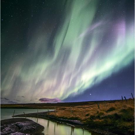 Aurora Borealis close to Mývatn.
