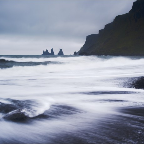Reynisdrangar cliffs, Vík i Mýrdal, Iceland