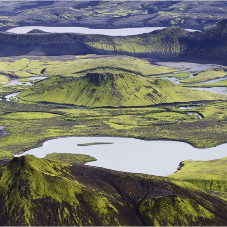 Central and southern highlands of Iceland