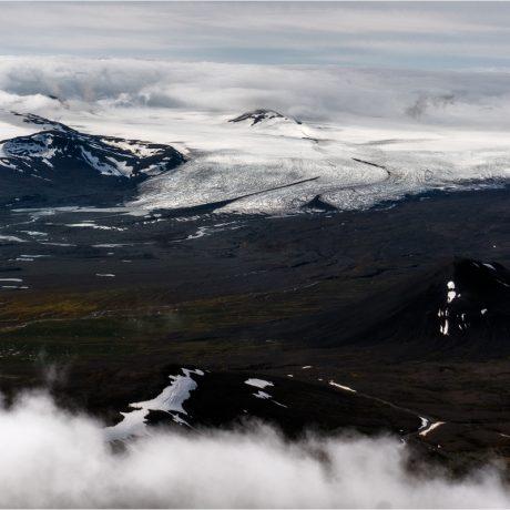 Blick vom Gipfel des Snæfell nach Süden